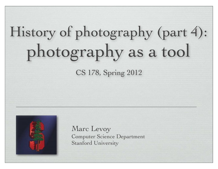 history of photography part 4 photography
