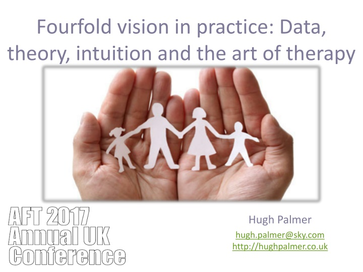 fourfold vision in practice data theory intuition