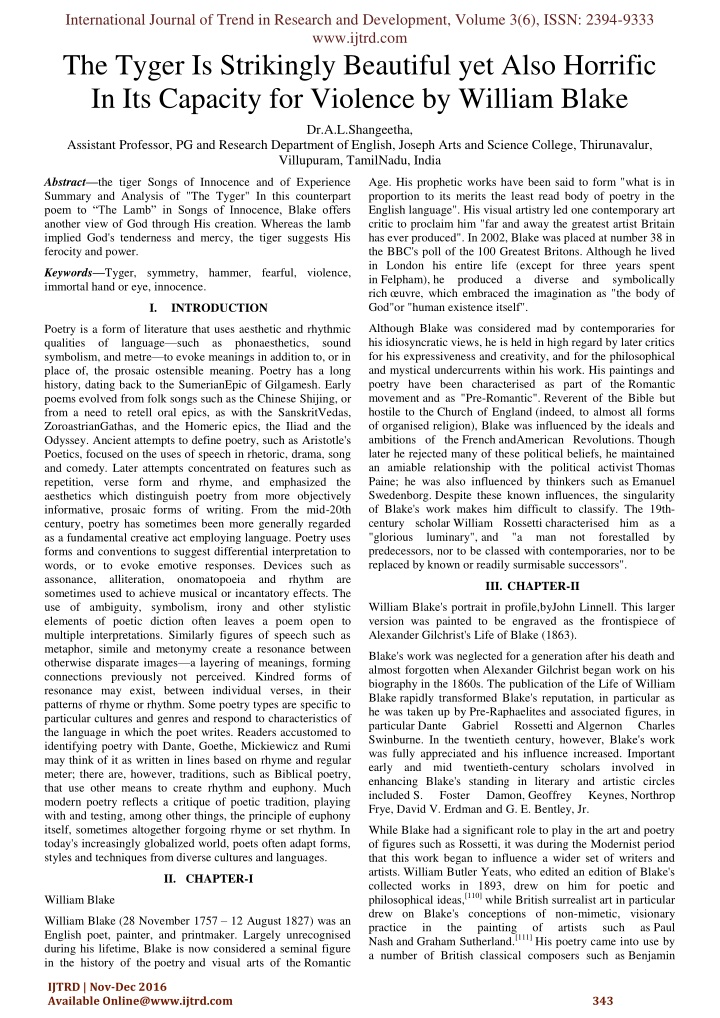international journal of trend in research