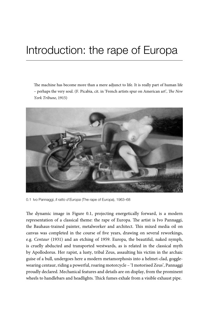 introduction the rape of europa