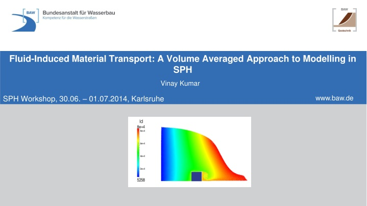 fluid induced material transport a volume