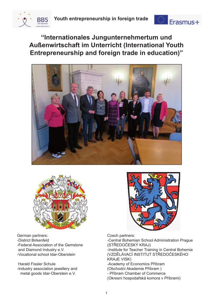 youth entrepreneurship in foreign trade