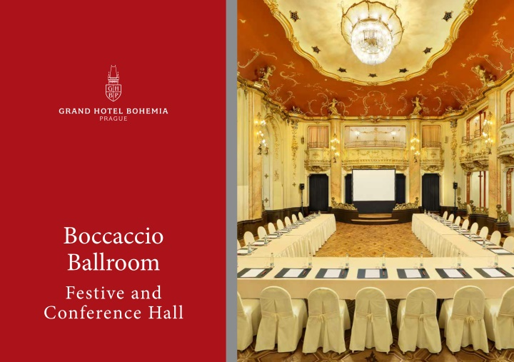 boccaccio ballroom festive and conference hall