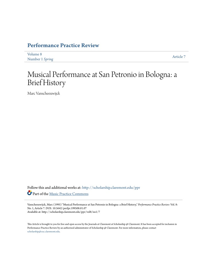 performance practice review