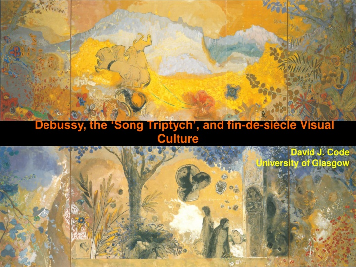 debussy the song triptych