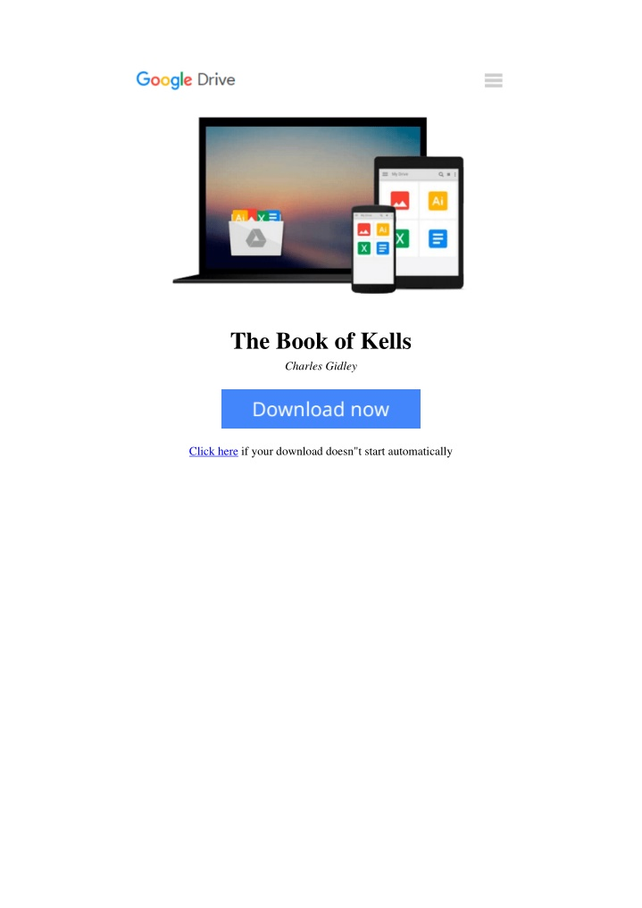 the book of kells charles gidley