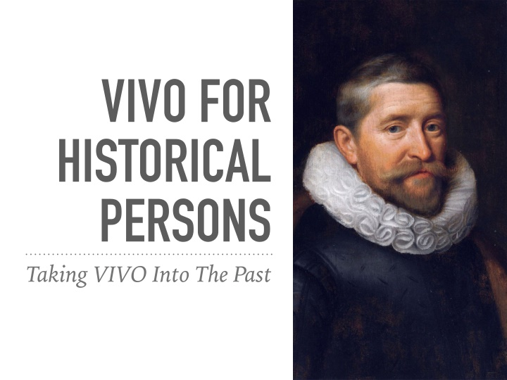 vivo for historical persons taking vivo into