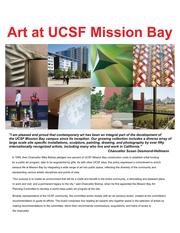 art at ucsf mission bay