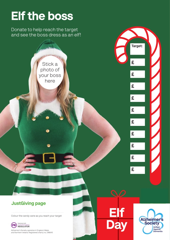 elf the boss donate to help reach the target
