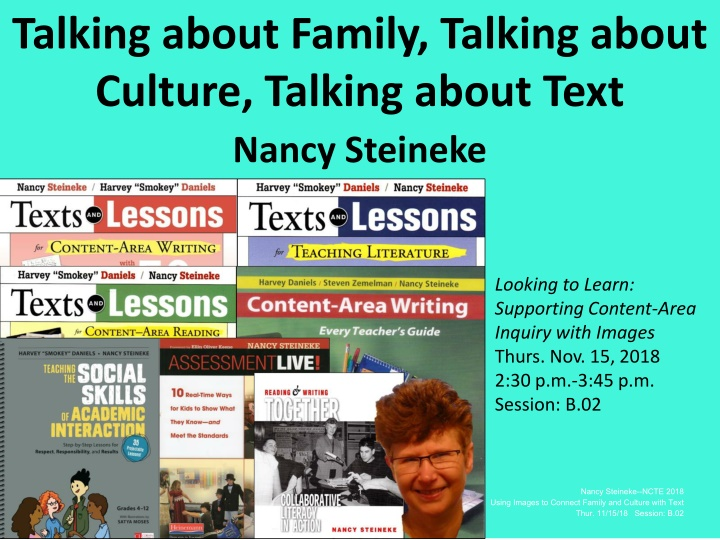 talking about family talking about culture