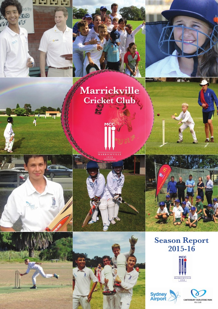 marrickville cricket club