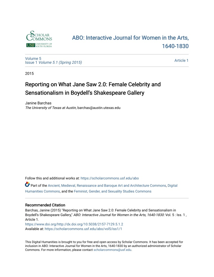 abo interactive journal for women in the arts