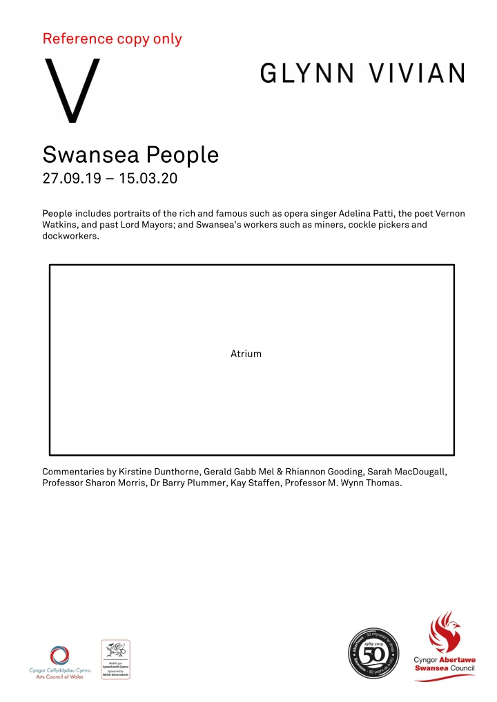 reference copy only swansea people