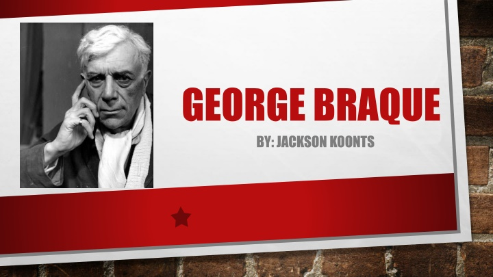 george braque by jackson koonts