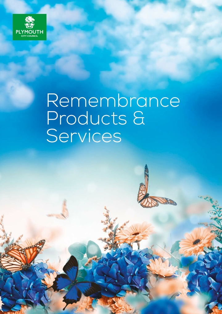 remembrance products services