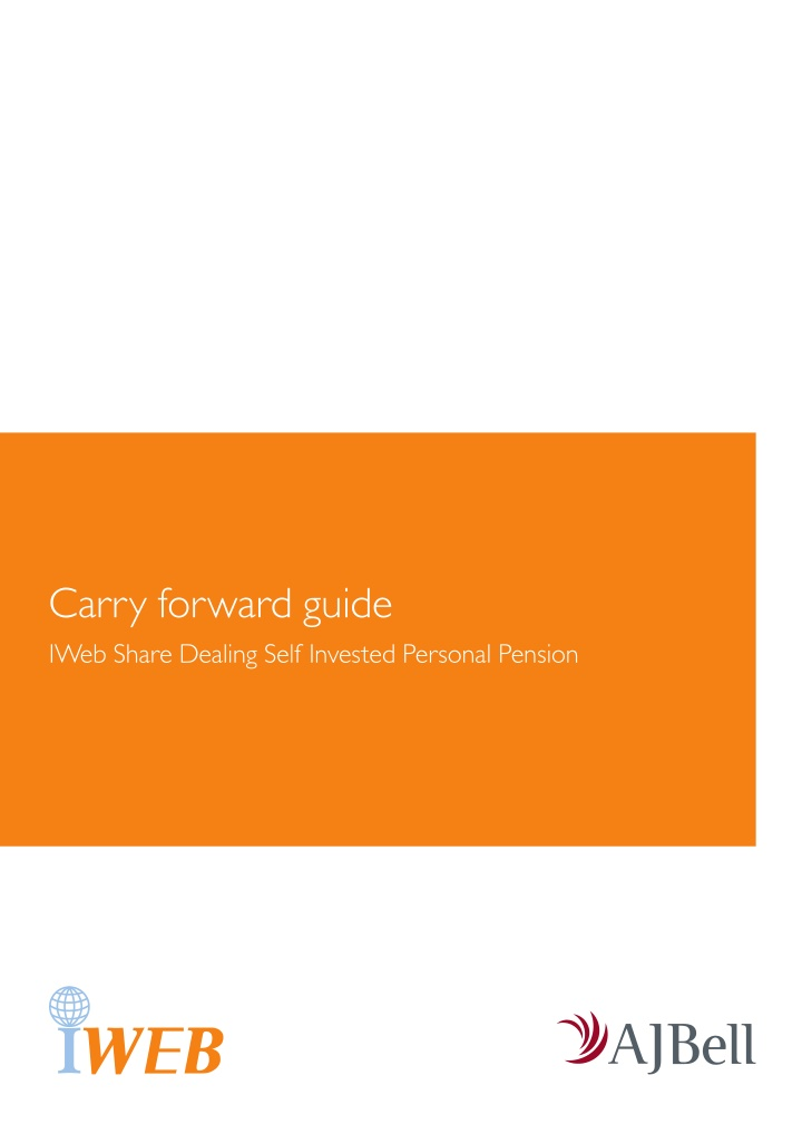 carry forward guide iweb share dealing self