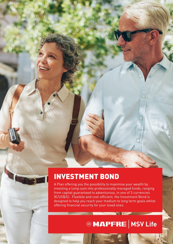 investment bond a plan offering